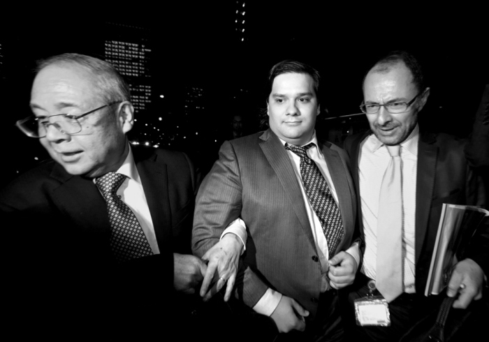 Mt. Gox CEO Mark Karpeles As The Bitcoin Exchange Files For Bankruptcy