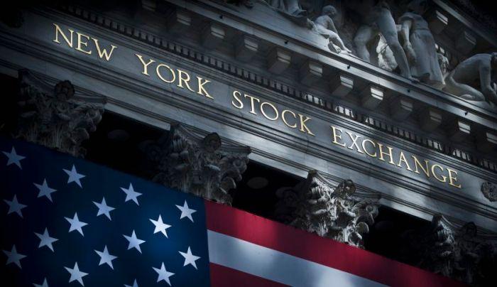 Wall Street in Manhattan, New York