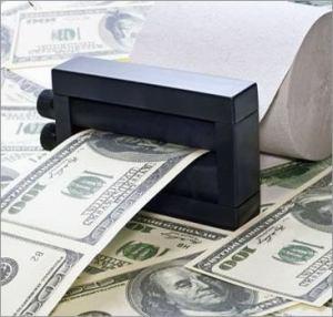 эмиссия денег доллар ФРС ЦБ бумага фантики