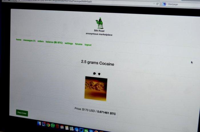 Кокаин и героин составляют большую часть лотов на Silk Road 3.0. Также много лотов, предлагающих украденные данные кредитных карт и поддельные документы.