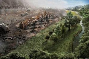 у зеленых нет шансов экология разрушение