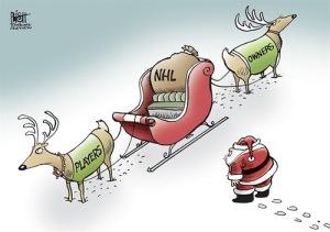 санта игроки владельцы НХЛ юмор прикол