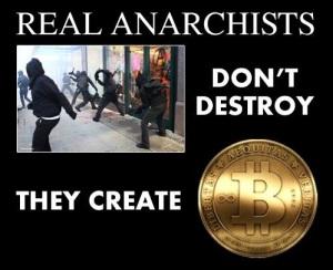 анархист анархизм биткойн не разрушение созидание создание