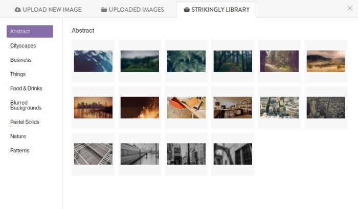 Strikingly_Image_library