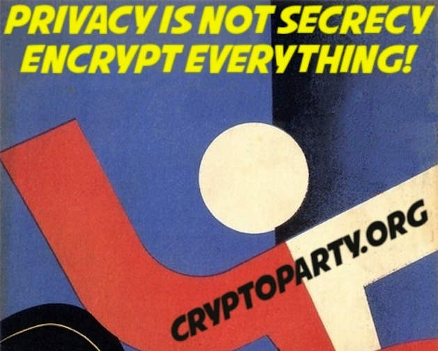 Приватность - не секретность. Шифруйте всё!