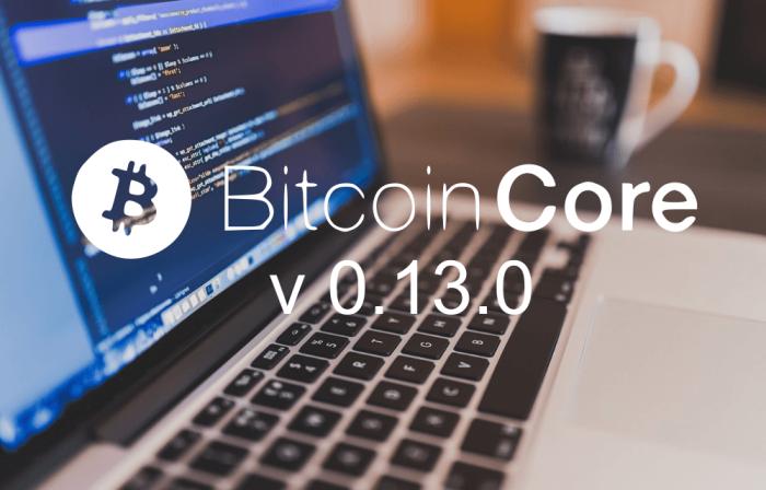 Bitcoin Core 0.13.0