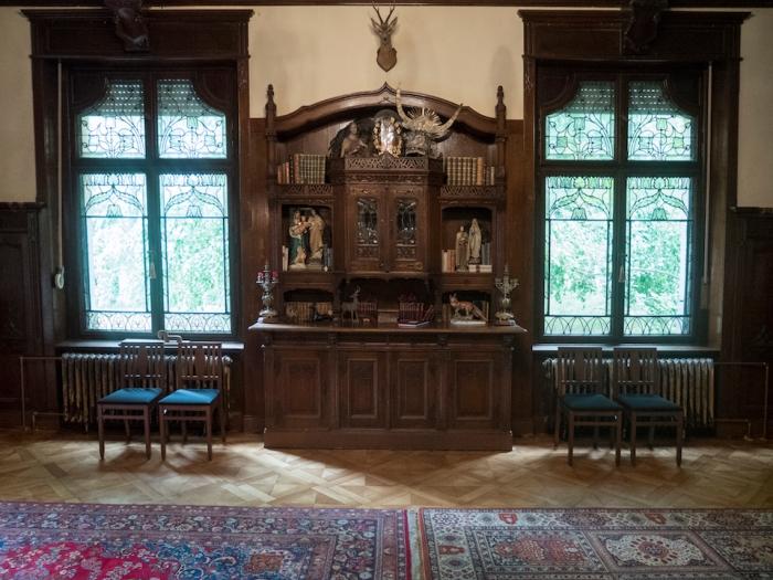 Внутри имения Хеинрихшорст