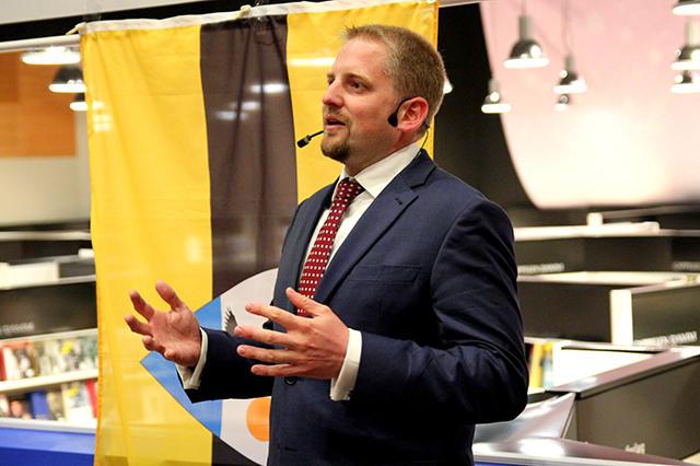Президент Либерлэнда для Bitnovosti: «Создание нового государства ранее никогда не обходилось без кровопролитий».