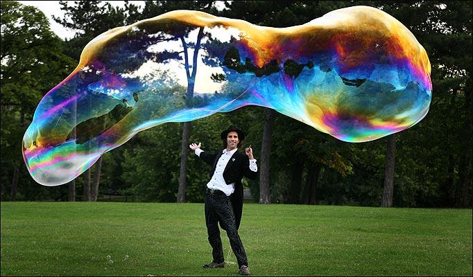 bubble huge