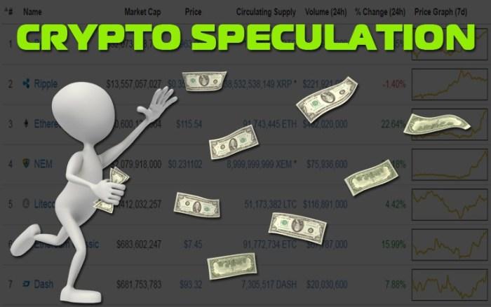 Криптовалюта должна перешагнуть через спекуляции