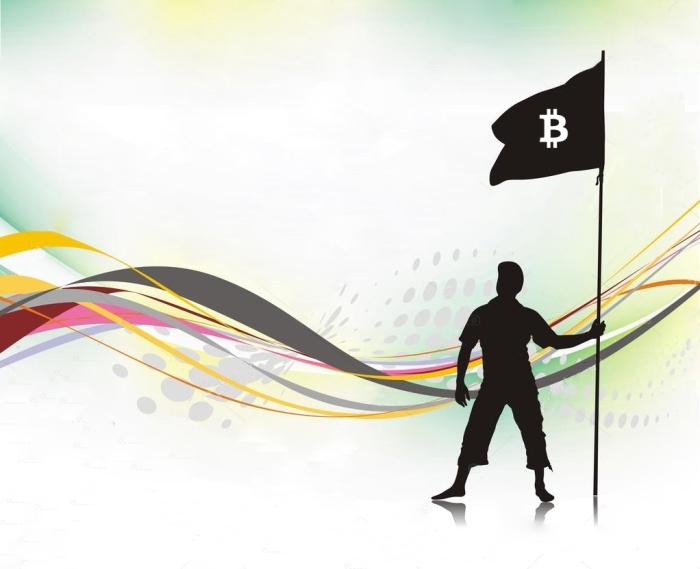 Фриланс биржи за биткойн знамя свободы