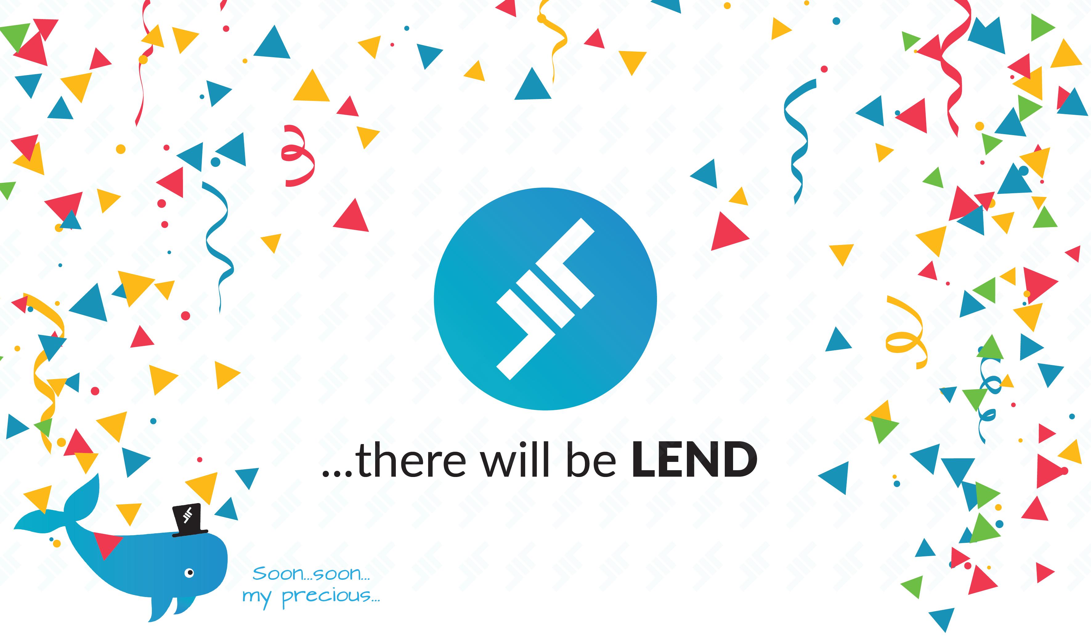 LEND Pre-Sale Announcement